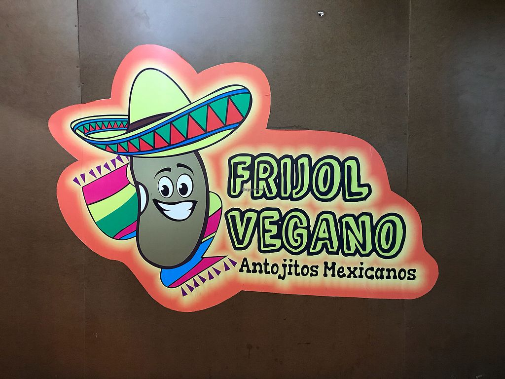 "Photo of Frijol Vegano - Food Stall  by <a href=""/members/profile/CarlosMoreno"">CarlosMoreno</a> <br/>Logo <br/> October 22, 2017  - <a href='/contact/abuse/image/69113/317508'>Report</a>"