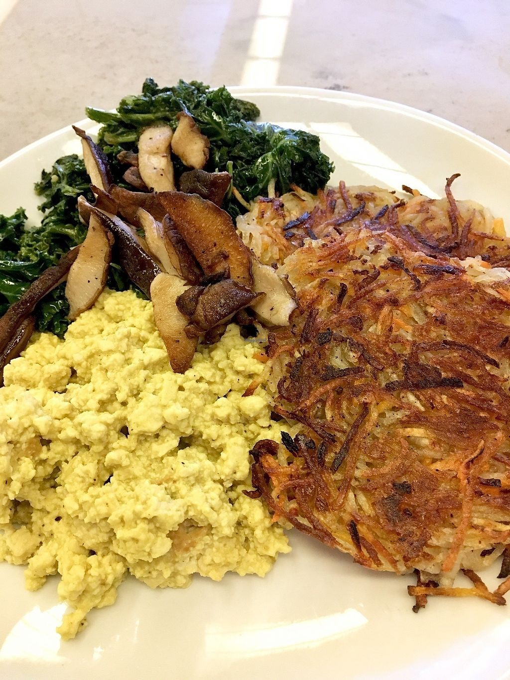 """Photo of B52 Cafe  by <a href=""""/members/profile/ecoRDN"""">ecoRDN</a> <br/>Tofu Scramble, B52 Pittsburgh - Photo By: ecoRDN - ecoRDN.com <br/> February 23, 2018  - <a href='/contact/abuse/image/69126/362893'>Report</a>"""