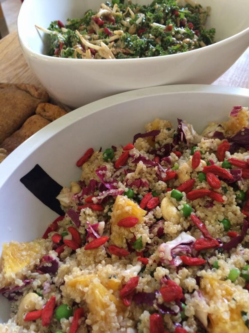 """Photo of Vegan Chef James De Burca  by <a href=""""/members/profile/community"""">community</a> <br/>quinoa salad <br/> May 19, 2016  - <a href='/contact/abuse/image/69128/149868'>Report</a>"""