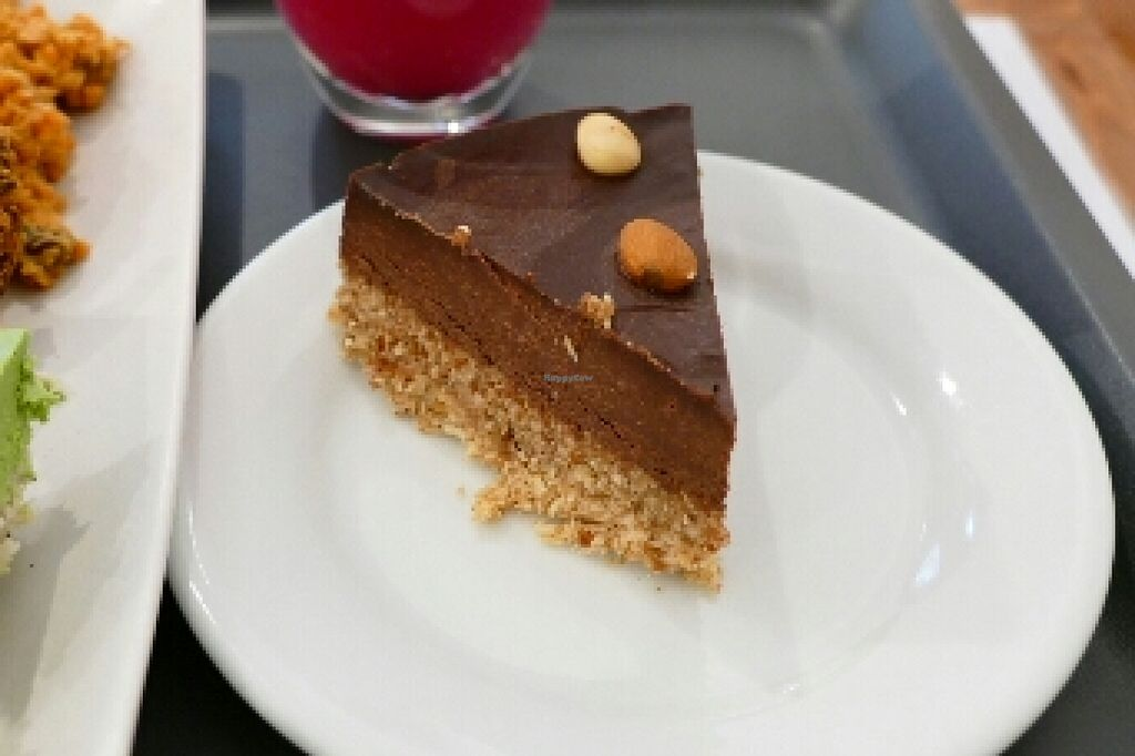 """Photo of Veggie Nyers  by <a href=""""/members/profile/Harp"""">Harp</a> <br/>Almond chocolate cake <br/> April 25, 2016  - <a href='/contact/abuse/image/69131/146216'>Report</a>"""