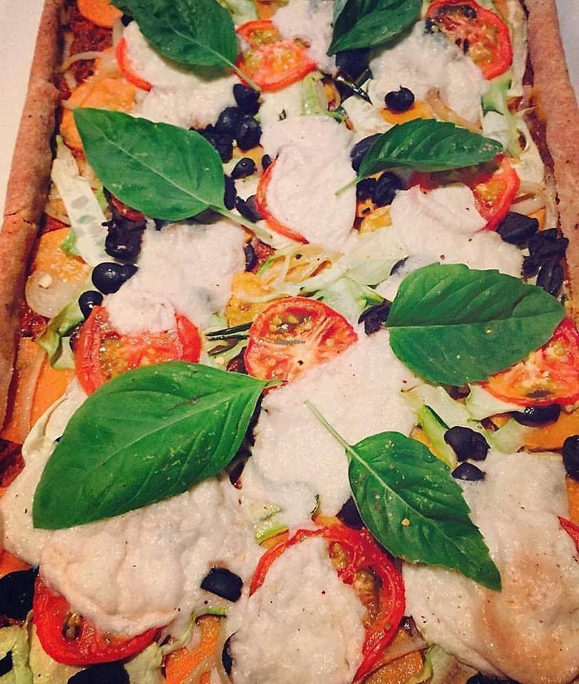 "Photo of Kats Snacks  by <a href=""/members/profile/Kats%20snacks"">Kats snacks</a> <br/>vegan roasted veggie pizza <br/> June 22, 2017  - <a href='/contact/abuse/image/69160/271995'>Report</a>"