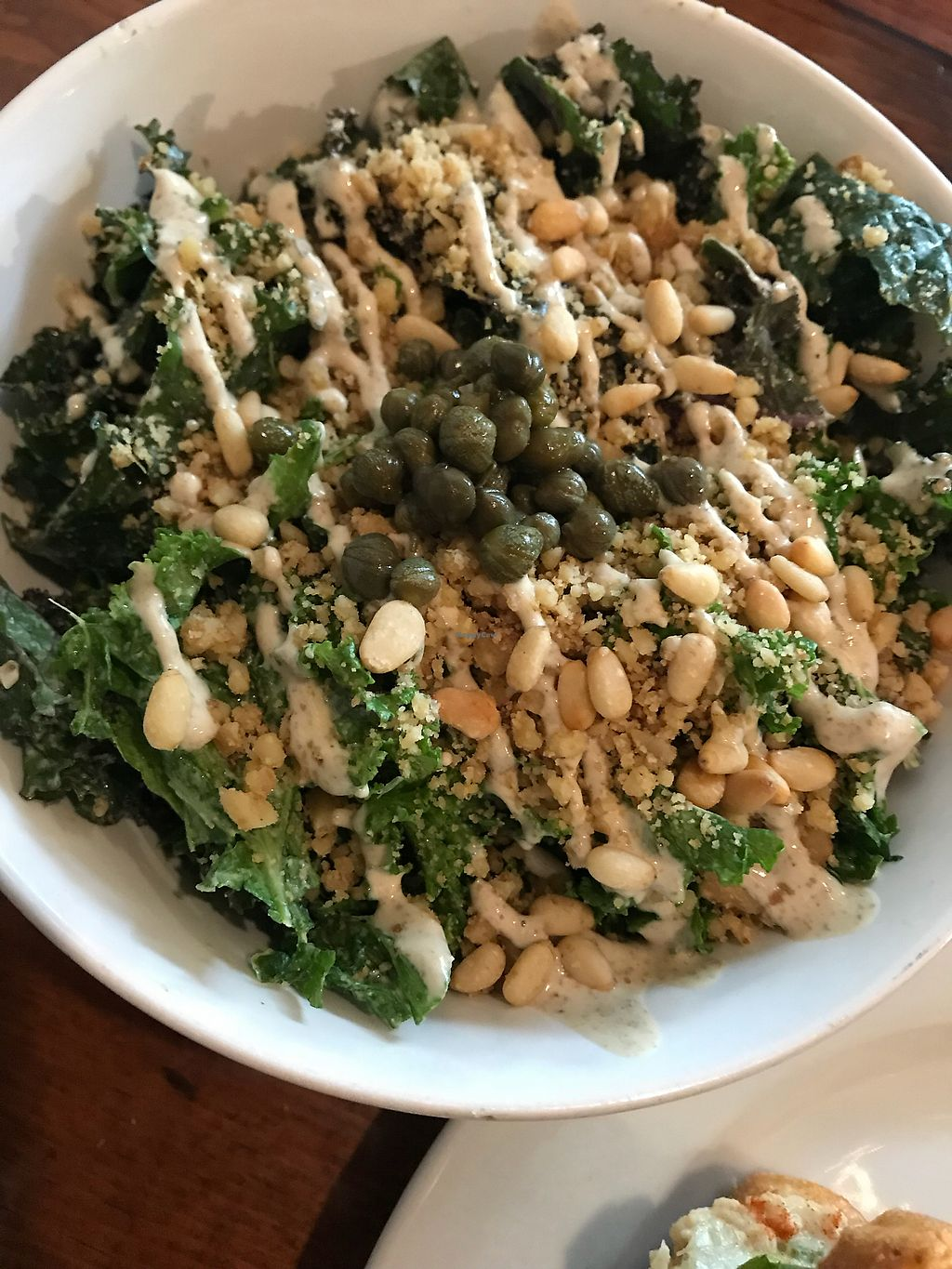 """Photo of Love Food Central  by <a href=""""/members/profile/katiakanner"""">katiakanner</a> <br/>incredible kale salad❤️ <br/> March 16, 2018  - <a href='/contact/abuse/image/69177/371231'>Report</a>"""