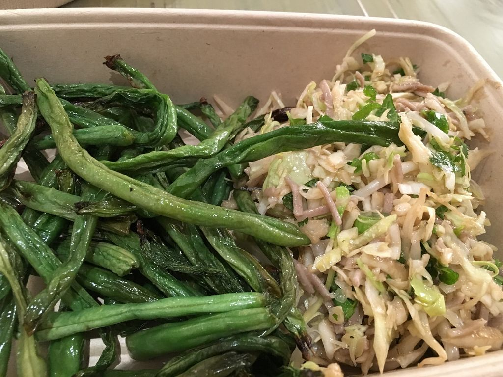 """Photo of The Little Beet  by <a href=""""/members/profile/cookiem"""">cookiem</a> <br/>Cabbage soba salad and charred green beans <br/> February 20, 2016  - <a href='/contact/abuse/image/69179/137036'>Report</a>"""