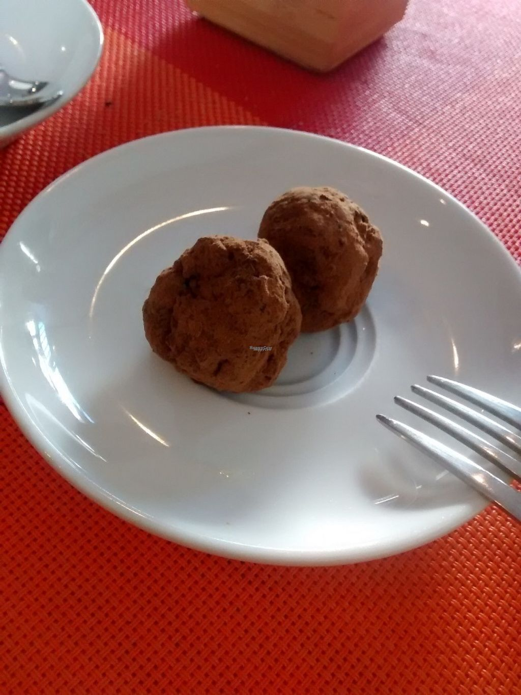 """Photo of CLOSED: Awa Viva - Biofood  by <a href=""""/members/profile/LeFunks"""">LeFunks</a> <br/>Dessert: raw chocolate truffle <br/> November 7, 2016  - <a href='/contact/abuse/image/69185/187214'>Report</a>"""