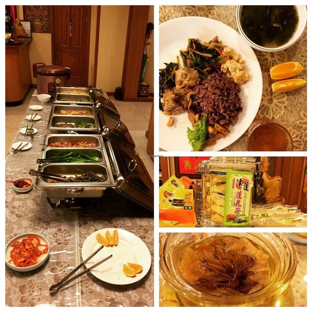 "Photo of Jeoksubang - 적수방  by <a href=""/members/profile/amandateng"">amandateng</a> <br/>7,000won buffet pick. served with complimentary lotus tea from the temple.  <br/> May 6, 2016  - <a href='/contact/abuse/image/69195/147782'>Report</a>"