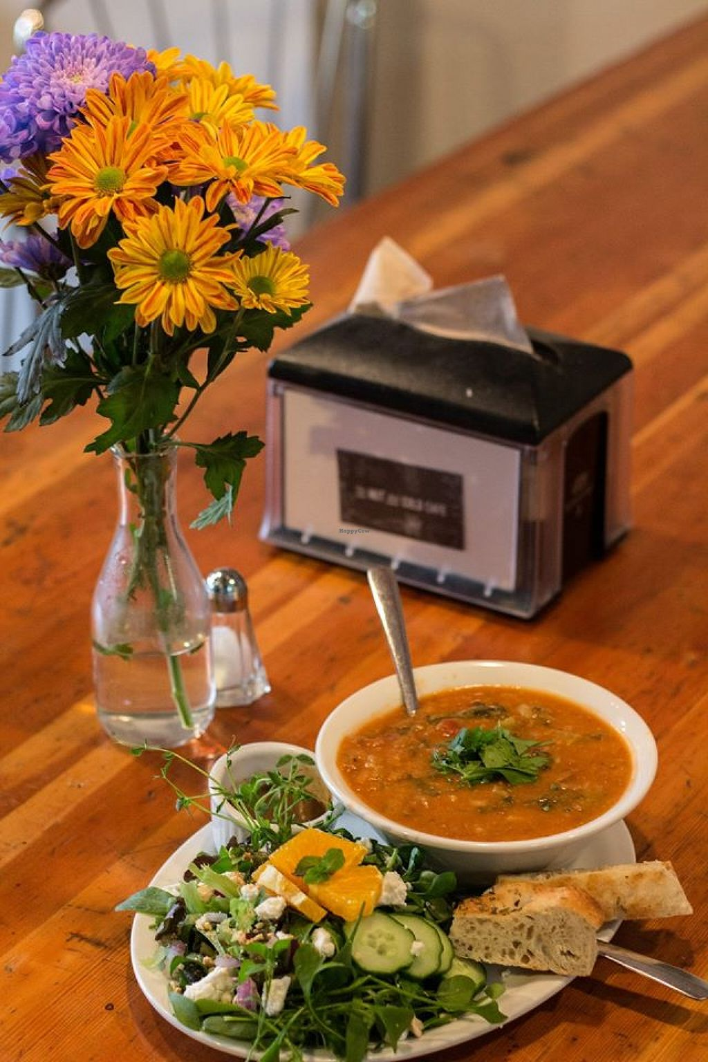 """Photo of The Hot & Cold Cafe   by <a href=""""/members/profile/SarahRoseBirge"""">SarahRoseBirge</a> <br/>Delicious salads and soups made from scratch <br/> February 6, 2016  - <a href='/contact/abuse/image/69223/135240'>Report</a>"""