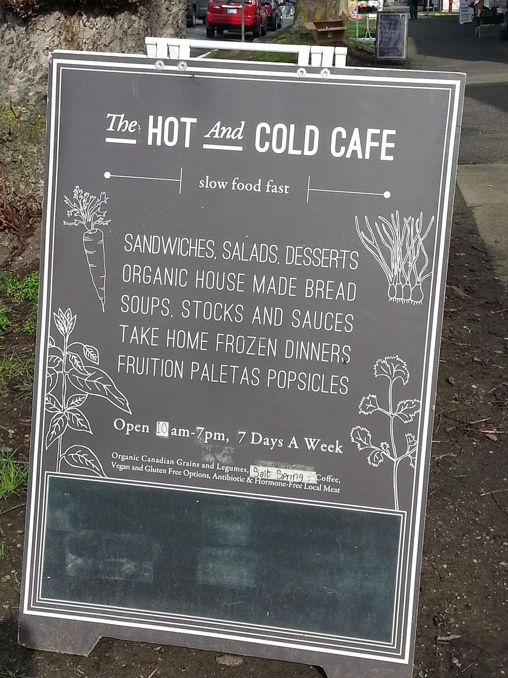 """Photo of The Hot & Cold Cafe   by <a href=""""/members/profile/Josensei"""">Josensei</a> <br/>Hot and Cold Cafe Outdoor Sign <br/> February 29, 2016  - <a href='/contact/abuse/image/69223/138233'>Report</a>"""