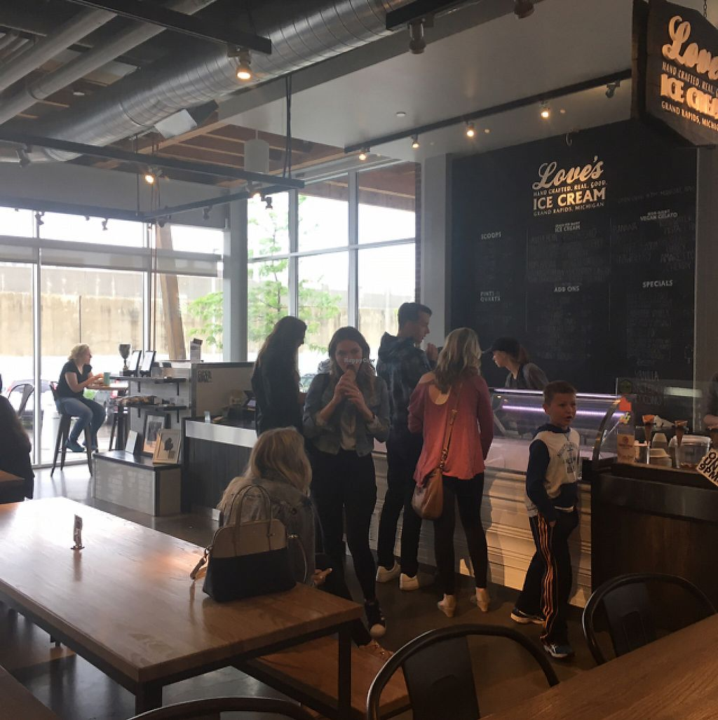 """Photo of Love's Ice Cream - Downtown Market  by <a href=""""/members/profile/Mariarosekicks"""">Mariarosekicks</a> <br/>store  <br/> May 20, 2017  - <a href='/contact/abuse/image/69224/260677'>Report</a>"""