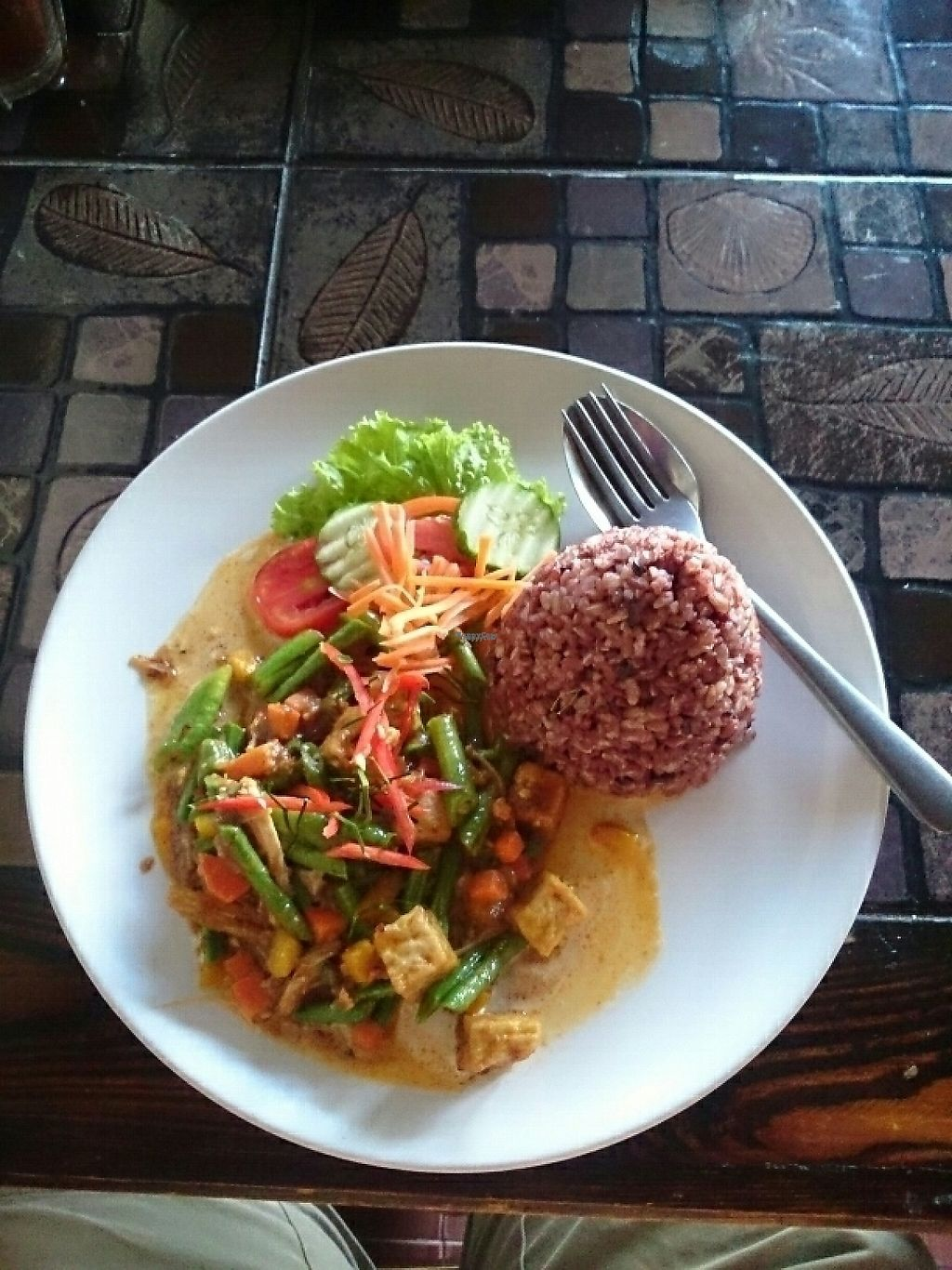 "Photo of CLOSED: Pai Vegetarian  by <a href=""/members/profile/kristoferb"">kristoferb</a> <br/>panang curry 65 baht <br/> January 24, 2017  - <a href='/contact/abuse/image/69234/215649'>Report</a>"