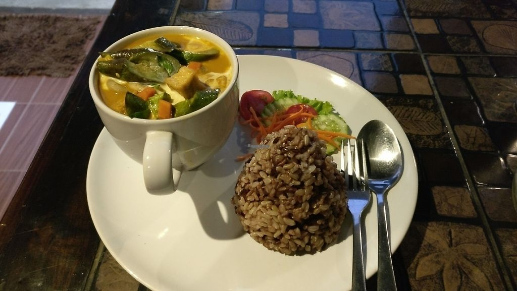 "Photo of CLOSED: Pai Vegetarian  by <a href=""/members/profile/davidredstone"">davidredstone</a> <br/>Red curry  <br/> March 24, 2017  - <a href='/contact/abuse/image/69234/240207'>Report</a>"