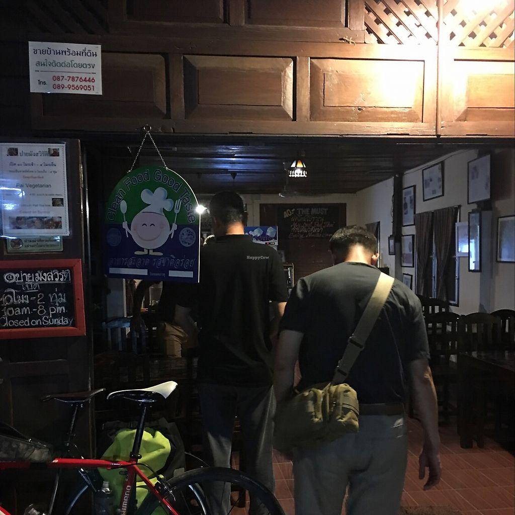 "Photo of CLOSED: Pai Vegetarian  by <a href=""/members/profile/Durianrider"">Durianrider</a> <br/>front of pai vegetarian at night  <br/> June 28, 2017  - <a href='/contact/abuse/image/69234/274388'>Report</a>"