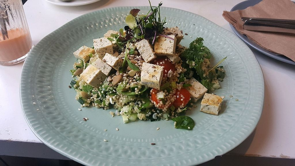 """Photo of NOP  by <a href=""""/members/profile/NicNewbs"""">NicNewbs</a> <br/>Vegan tabbouleh salad <br/> February 7, 2018  - <a href='/contact/abuse/image/69247/355978'>Report</a>"""