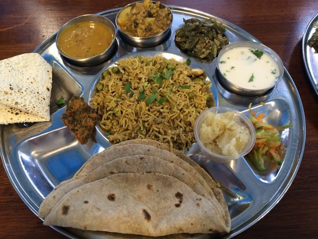 "Photo of Saattveek  by <a href=""/members/profile/saattveek"">saattveek</a> <br/>Full meal including mains, rice, Curry, Dhal, Sweet! a Must for those who want a taste of everything in one plate <br/> June 12, 2016  - <a href='/contact/abuse/image/69252/153554'>Report</a>"