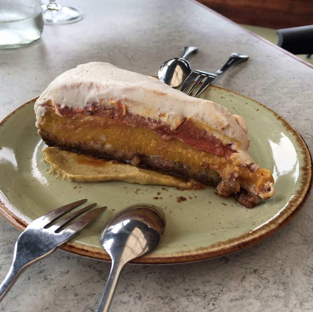 """Photo of Thomas's Bach  by <a href=""""/members/profile/AimeeS"""">AimeeS</a> <br/>Quince cheesecake (vegan) <br/> May 15, 2017  - <a href='/contact/abuse/image/69262/258887'>Report</a>"""