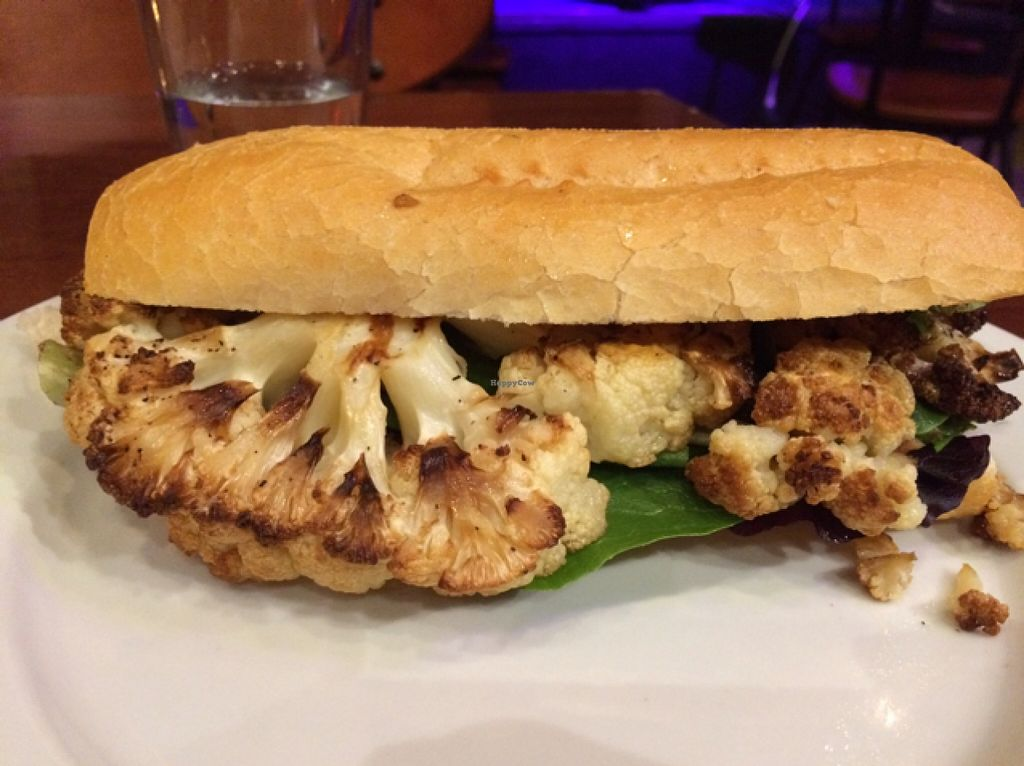 """Photo of CLOSED: Reverie Cafe and Bar  by <a href=""""/members/profile/Vegan%20Vagabond"""">Vegan Vagabond</a> <br/>cauliflower poboy <br/> March 1, 2016  - <a href='/contact/abuse/image/69266/138402'>Report</a>"""