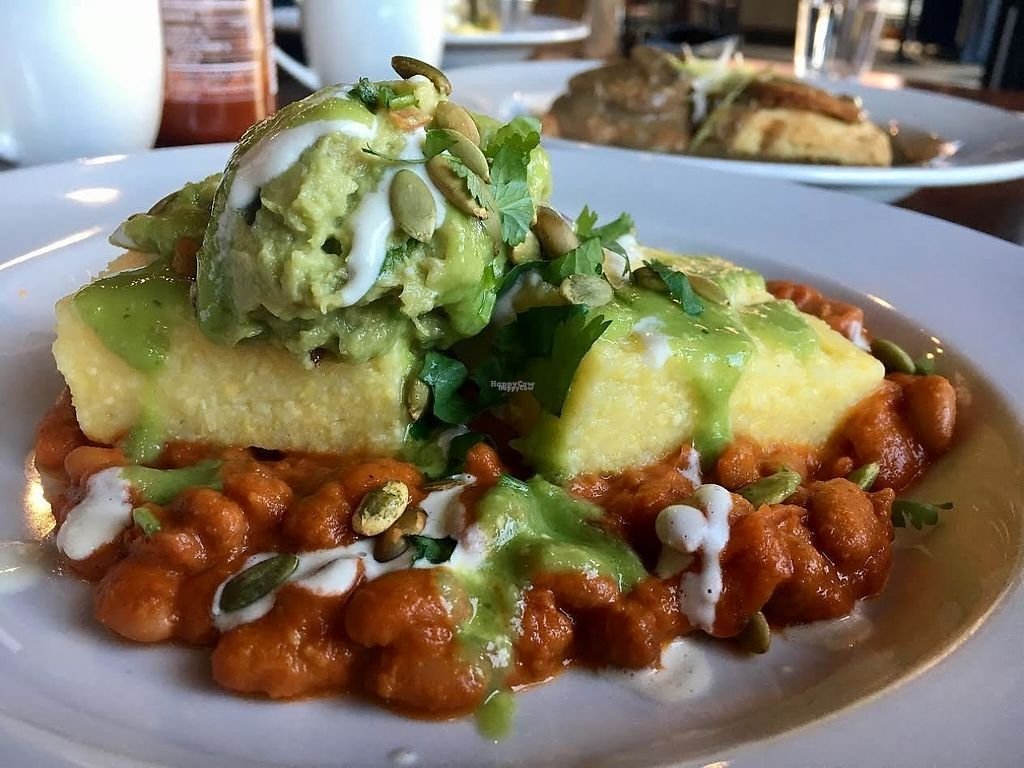 """Photo of CLOSED: Reverie Cafe and Bar  by <a href=""""/members/profile/Laura1G2C"""">Laura1G2C</a> <br/>Polenta Rancheros <br/> February 25, 2017  - <a href='/contact/abuse/image/69266/230361'>Report</a>"""