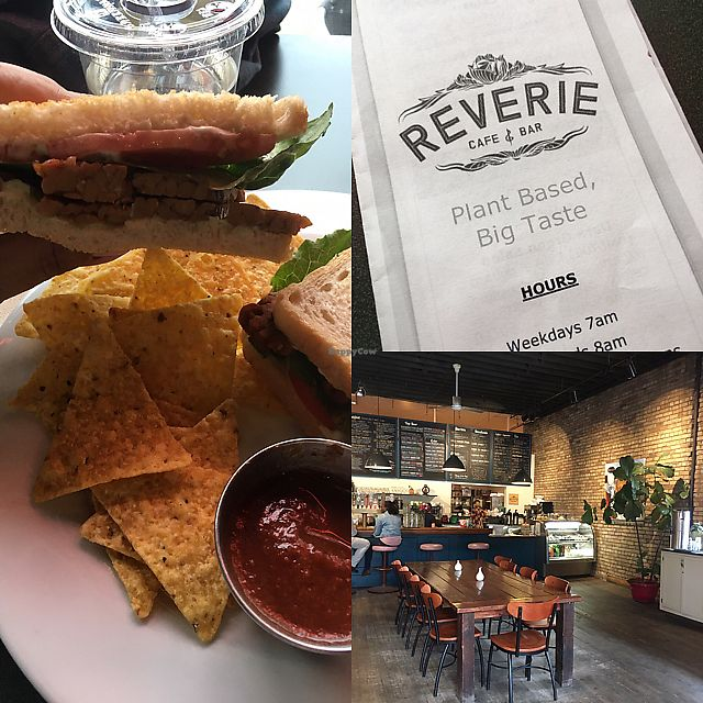 """Photo of CLOSED: Reverie Cafe and Bar  by <a href=""""/members/profile/mrsjjb1999"""">mrsjjb1999</a> <br/>Amazinf food and great service!  #veganaf  <br/> June 12, 2017  - <a href='/contact/abuse/image/69266/268290'>Report</a>"""