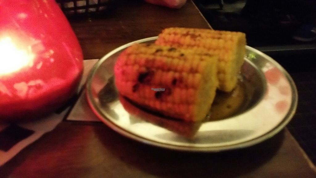 """Photo of Lucky Pig at Paradise Palms  by <a href=""""/members/profile/KatieBatty"""">KatieBatty</a> <br/>Grilled corn <br/> February 16, 2017  - <a href='/contact/abuse/image/69294/227126'>Report</a>"""
