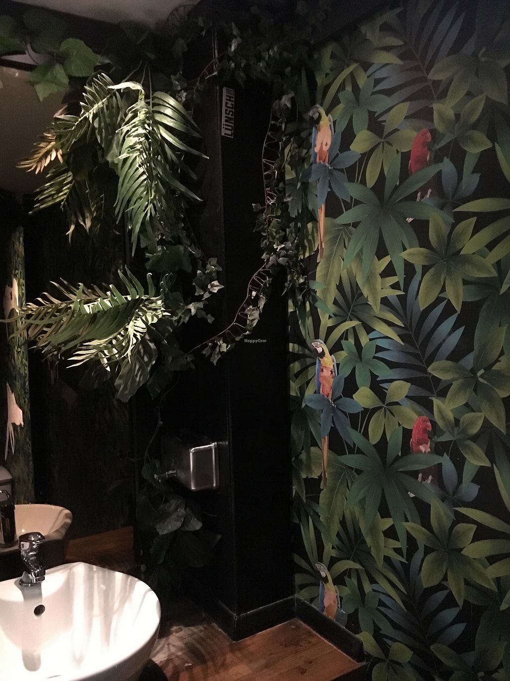 """Photo of Lucky Pig at Paradise Palms  by <a href=""""/members/profile/NicolaScott"""">NicolaScott</a> <br/>the toilet wallpaper  <br/> September 3, 2017  - <a href='/contact/abuse/image/69294/300380'>Report</a>"""