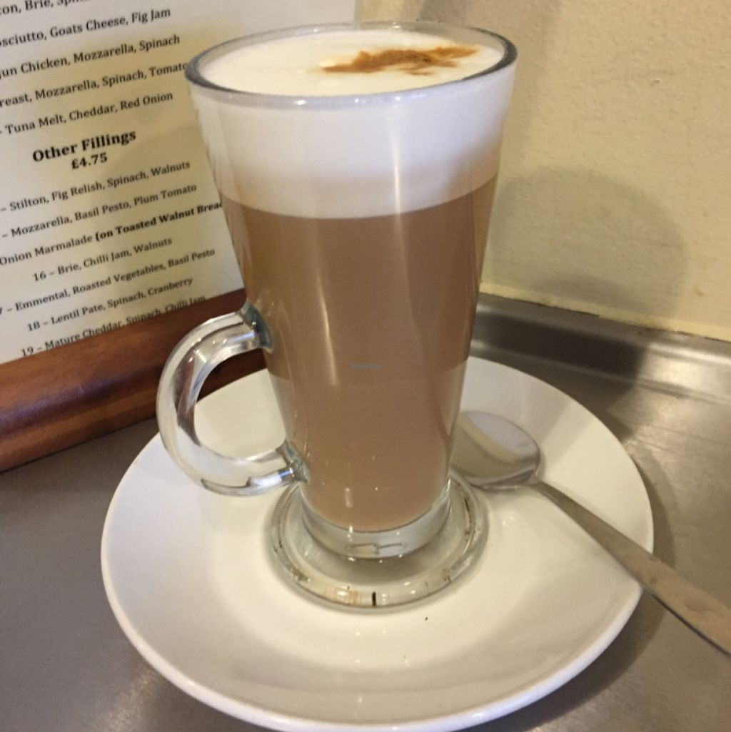 """Photo of Fox Cafe  by <a href=""""/members/profile/Chris_D"""">Chris_D</a> <br/>Soya latte <br/> May 31, 2016  - <a href='/contact/abuse/image/69299/151550'>Report</a>"""