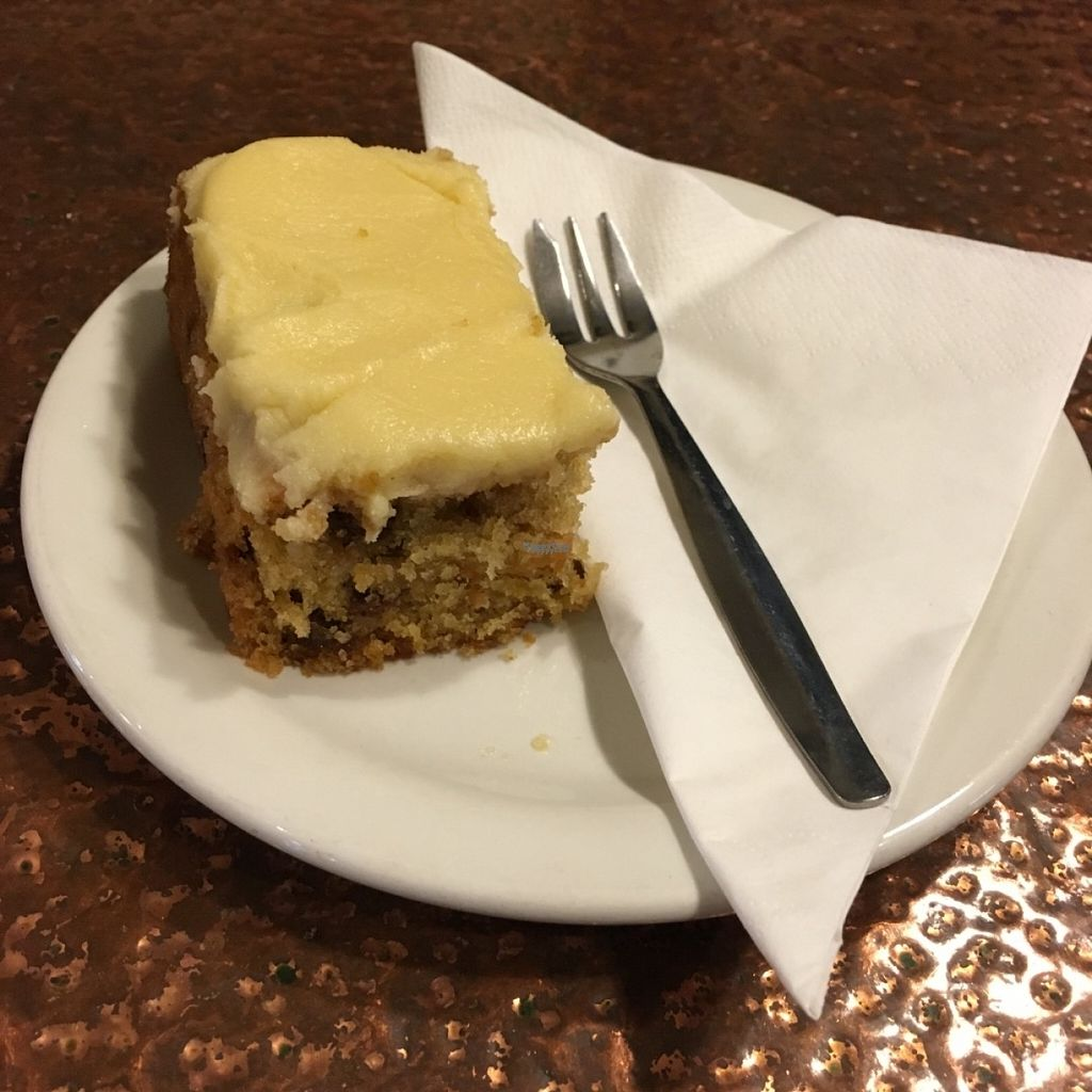 """Photo of Fox Cafe  by <a href=""""/members/profile/Libra77"""">Libra77</a> <br/>Carrot cake <br/> October 30, 2016  - <a href='/contact/abuse/image/69299/185873'>Report</a>"""