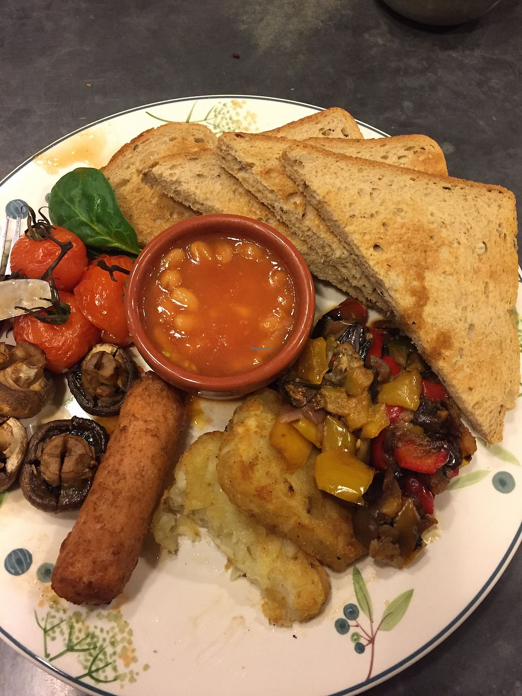 """Photo of Fox Cafe  by <a href=""""/members/profile/TraceyNorris"""">TraceyNorris</a> <br/>All day vegan breakfast <br/> January 12, 2018  - <a href='/contact/abuse/image/69299/345889'>Report</a>"""