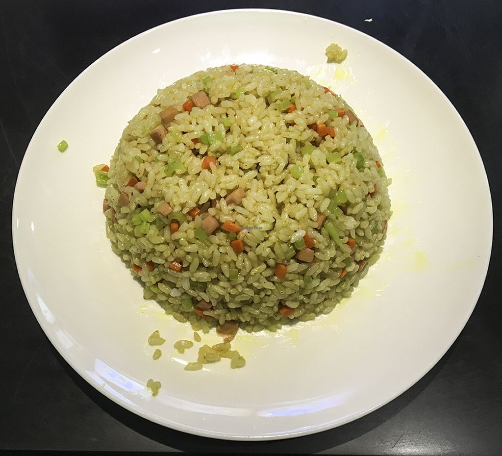"""Photo of Super Vegan - Huang Pu Distrcit  by <a href=""""/members/profile/Tianci"""">Tianci</a> <br/>Taiwan Curry Stir-fry Rice <br/> February 8, 2016  - <a href='/contact/abuse/image/69376/135468'>Report</a>"""