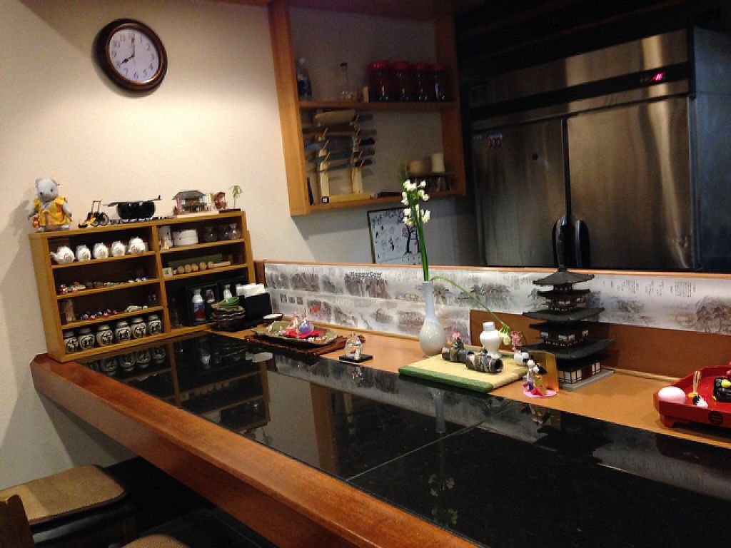 """Photo of Shiki-Saisai Non  by <a href=""""/members/profile/Teruru"""">Teruru</a> <br/>counter table with lots of beautiful Japanese miniature structures <br/> April 30, 2017  - <a href='/contact/abuse/image/69463/254357'>Report</a>"""