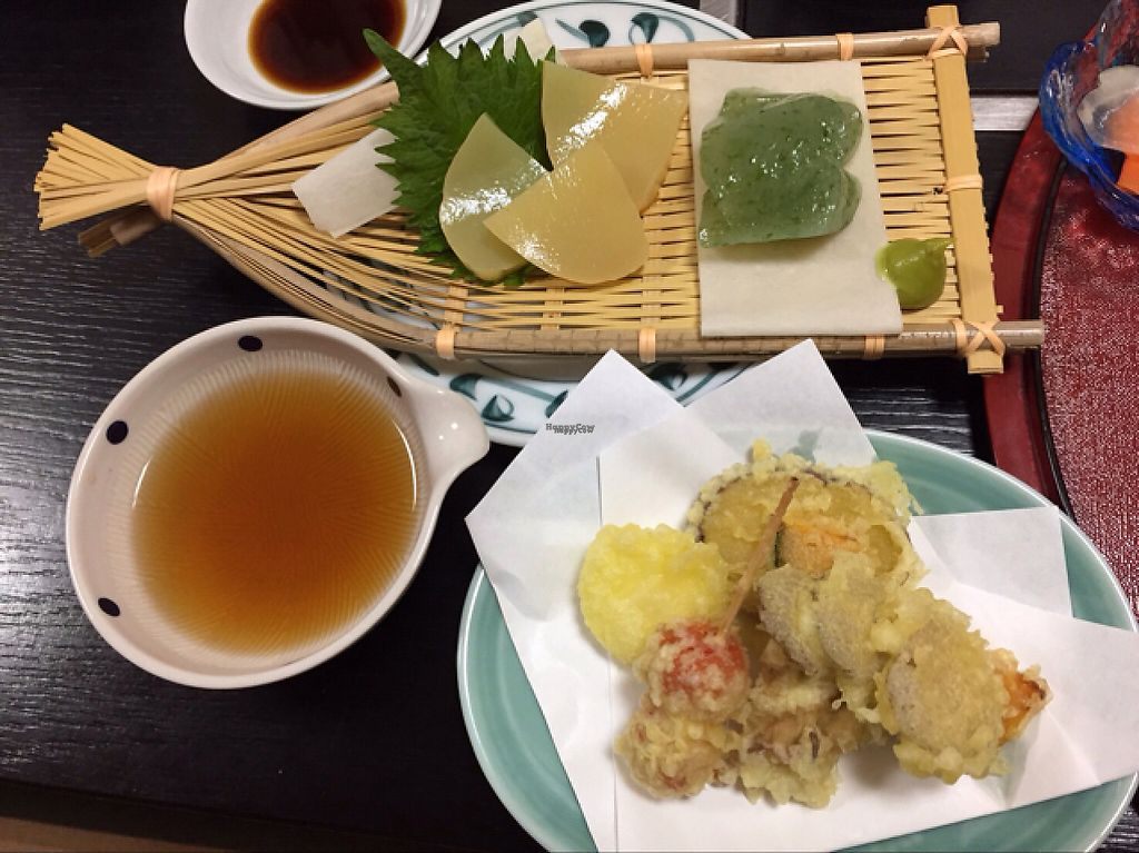 "Photo of Shiki-Saisai Non  by <a href=""/members/profile/Teruru"">Teruru</a> <br/>vegetable tempura and konnyaku sashimi <br/> April 30, 2017  - <a href='/contact/abuse/image/69463/254359'>Report</a>"