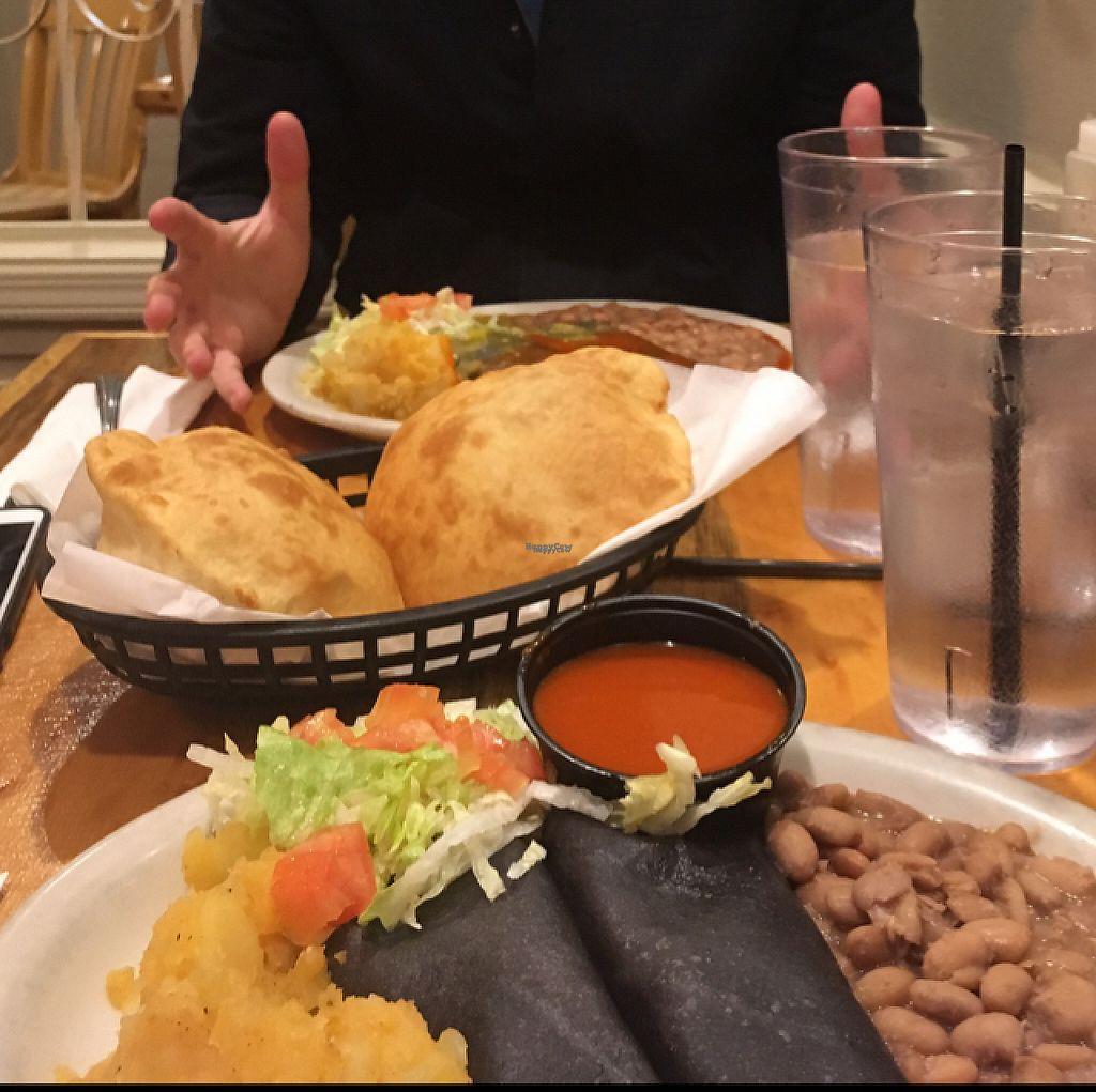 "Photo of El Patio  by <a href=""/members/profile/Jessieb"">Jessieb</a> <br/>vegan enchiladas  <br/> March 19, 2017  - <a href='/contact/abuse/image/6946/238151'>Report</a>"