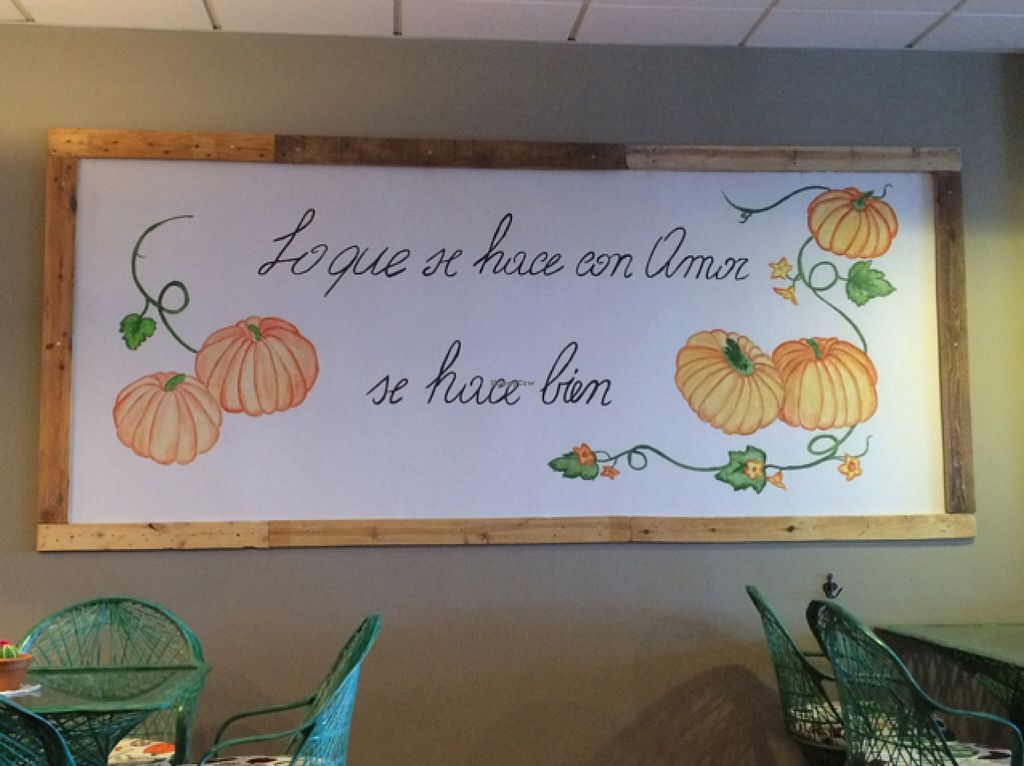 """Photo of Samelo Veg  by <a href=""""/members/profile/MelissaEmmelie"""">MelissaEmmelie</a> <br/>all that's made with love is made well... Nice wall decor  <br/> February 16, 2016  - <a href='/contact/abuse/image/69502/136570'>Report</a>"""