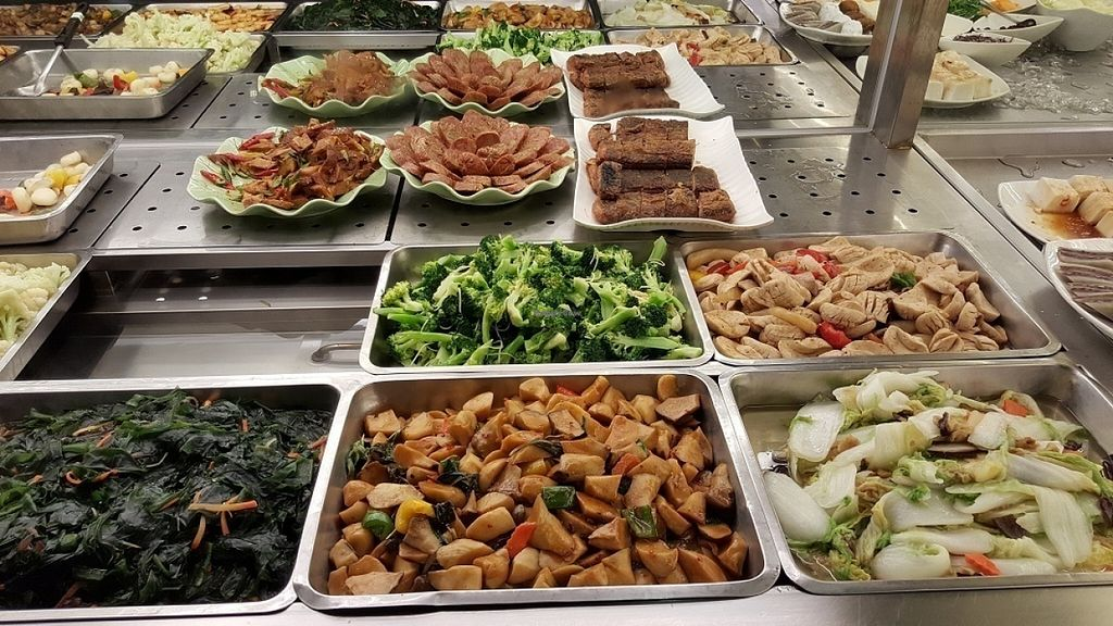 "Photo of Minder Vegetarian - Banqiao Station  by <a href=""/members/profile/yogiexplorer"">yogiexplorer</a> <br/>Minder vegetarian dishes <br/> July 30, 2016  - <a href='/contact/abuse/image/69507/163302'>Report</a>"