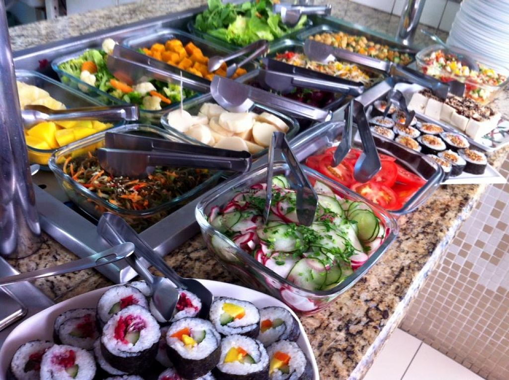 "Photo of You Yuan Restaurante Vegetariano  by <a href=""/members/profile/community"">community</a> <br/>vegetarian buffet  <br/> February 23, 2016  - <a href='/contact/abuse/image/69524/137412'>Report</a>"