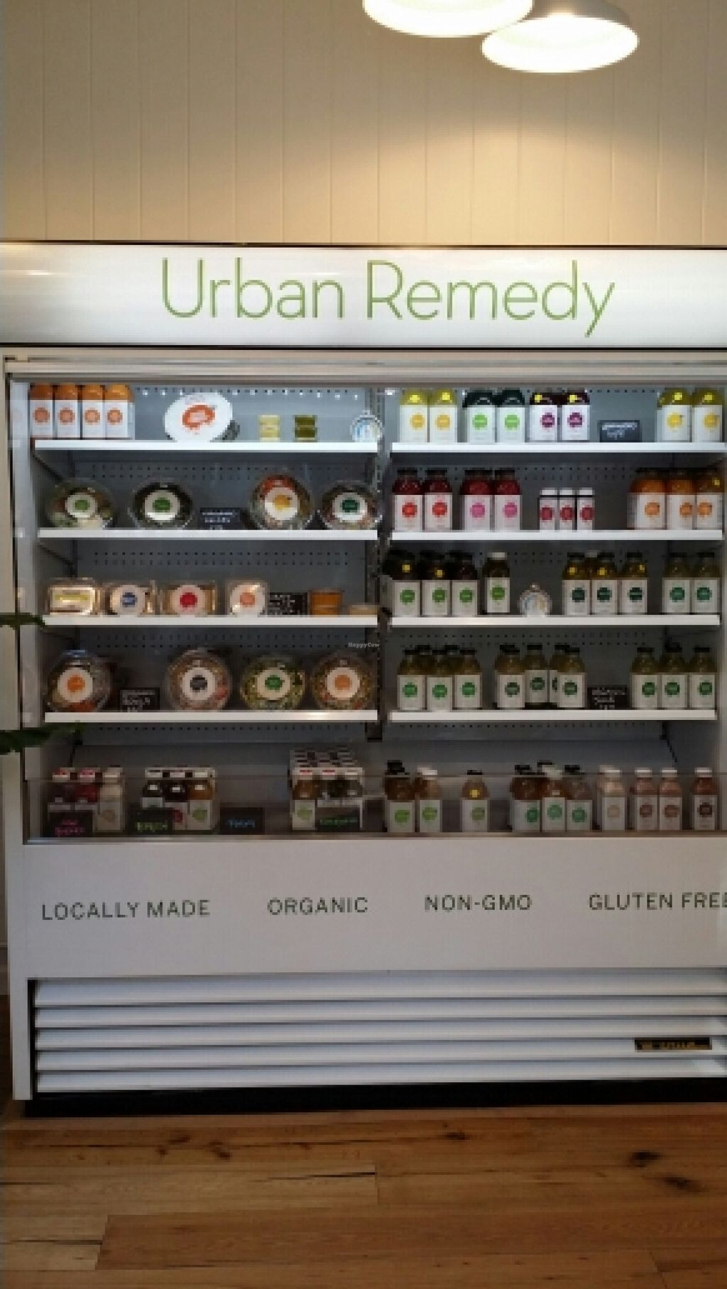 "Photo of Urban Remedy  by <a href=""/members/profile/catbone"">catbone</a> <br/>A Larger Refrigerated Showcase With Juices And Other Edibles <br/> February 24, 2016  - <a href='/contact/abuse/image/69530/137535'>Report</a>"