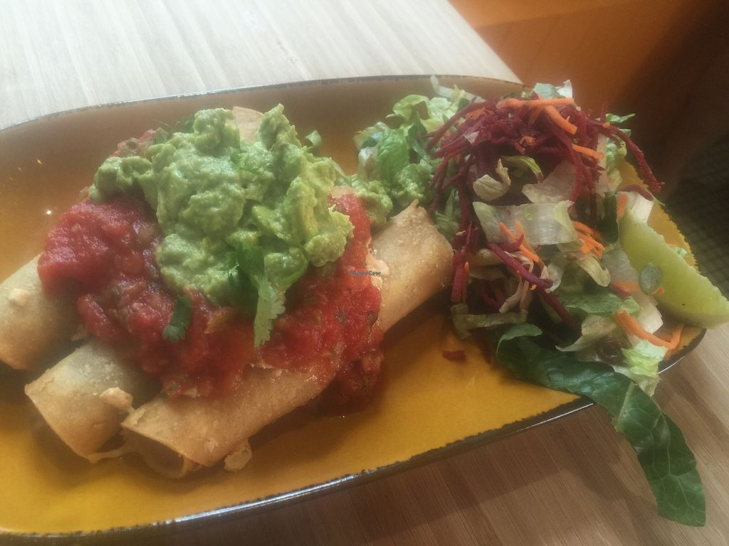 """Photo of Trippy Taco   by <a href=""""/members/profile/Tiggy"""">Tiggy</a> <br/>Vegan taquitos - February 2016 <br/> February 12, 2016  - <a href='/contact/abuse/image/69539/135937'>Report</a>"""