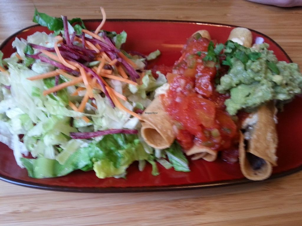"""Photo of Trippy Taco   by <a href=""""/members/profile/KatieBatty"""">KatieBatty</a> <br/>Vegan taquitos <br/> June 27, 2016  - <a href='/contact/abuse/image/69539/156322'>Report</a>"""