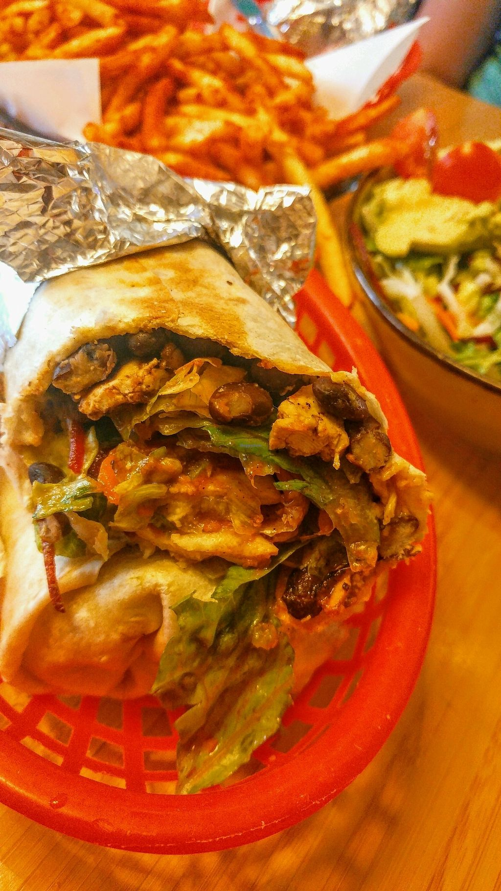 """Photo of Trippy Taco   by <a href=""""/members/profile/verbosity"""">verbosity</a> <br/>Mixed Burrito <br/> January 27, 2018  - <a href='/contact/abuse/image/69539/351362'>Report</a>"""