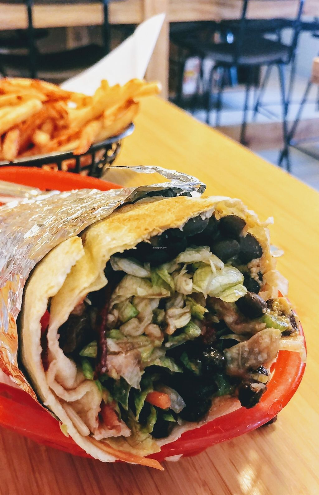 """Photo of Trippy Taco   by <a href=""""/members/profile/karlaess"""">karlaess</a> <br/>Original burrito (veganised) <br/> January 27, 2018  - <a href='/contact/abuse/image/69539/351636'>Report</a>"""