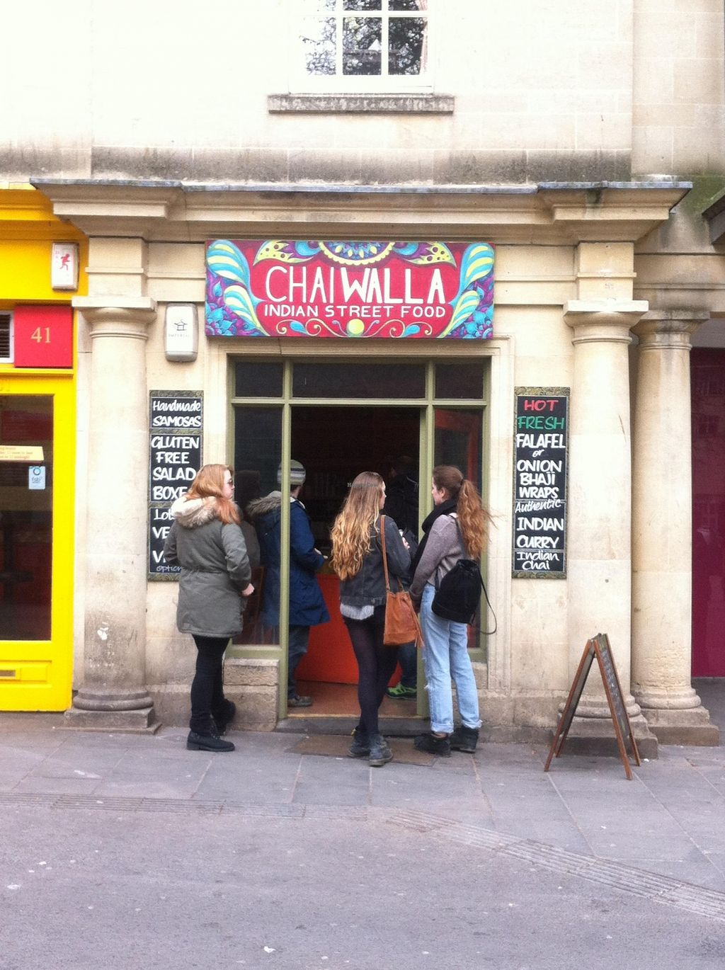 """Photo of Chai Walla  by <a href=""""/members/profile/AdamPope"""">AdamPope</a> <br/>Amazing Indian Street Food! <br/> April 1, 2016  - <a href='/contact/abuse/image/69540/142214'>Report</a>"""