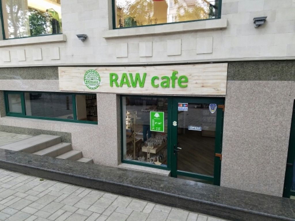 """Photo of BIOrganic Raw Cafe  by <a href=""""/members/profile/kenvegan"""">kenvegan</a> <br/>outside <br/> May 18, 2016  - <a href='/contact/abuse/image/69552/149579'>Report</a>"""