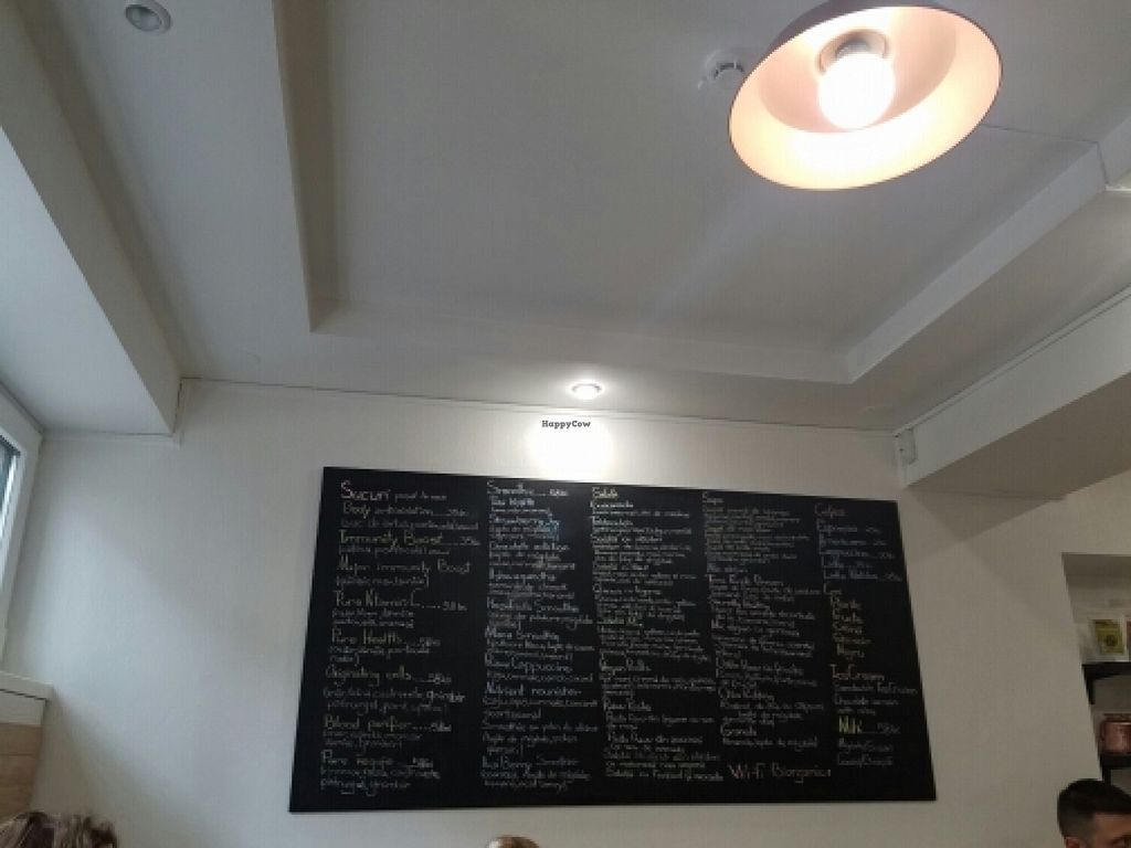 """Photo of BIOrganic Raw Cafe  by <a href=""""/members/profile/kenvegan"""">kenvegan</a> <br/>menu <br/> May 18, 2016  - <a href='/contact/abuse/image/69552/149589'>Report</a>"""