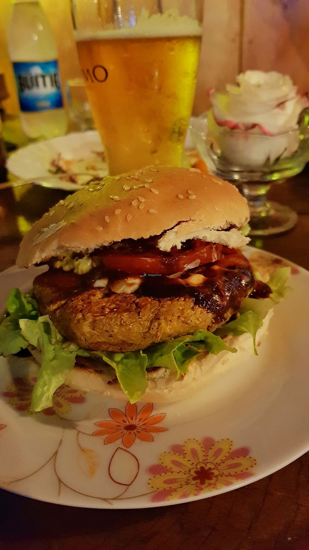 "Photo of Quinoa  by <a href=""/members/profile/TeamTark"">TeamTark</a> <br/>BBQ burger <br/> August 29, 2017  - <a href='/contact/abuse/image/69557/298451'>Report</a>"