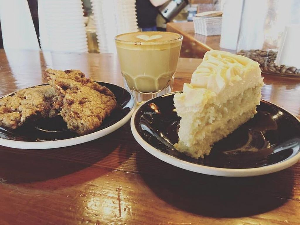 """Photo of Ghostlight Coffee  by <a href=""""/members/profile/community"""">community</a> <br/>Toffee Cookies and Vegan Tart <br/> March 6, 2017  - <a href='/contact/abuse/image/69562/233351'>Report</a>"""