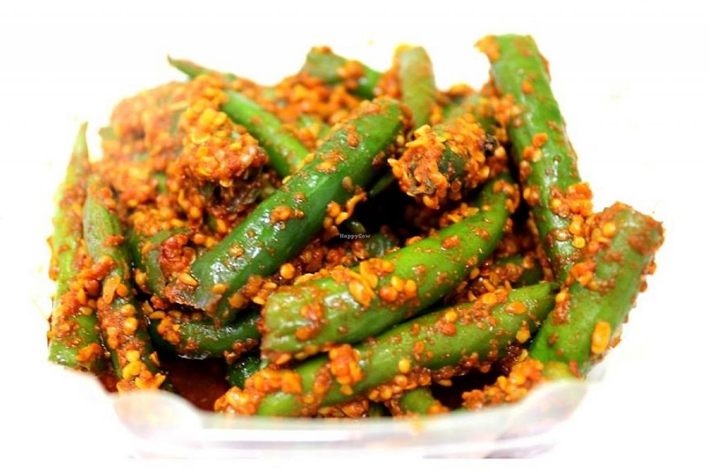 "Photo of Rajula's Kitchen  by <a href=""/members/profile/community"">community</a> <br/>Whole Green Chilli Pickle <br/> February 23, 2016  - <a href='/contact/abuse/image/69584/229670'>Report</a>"