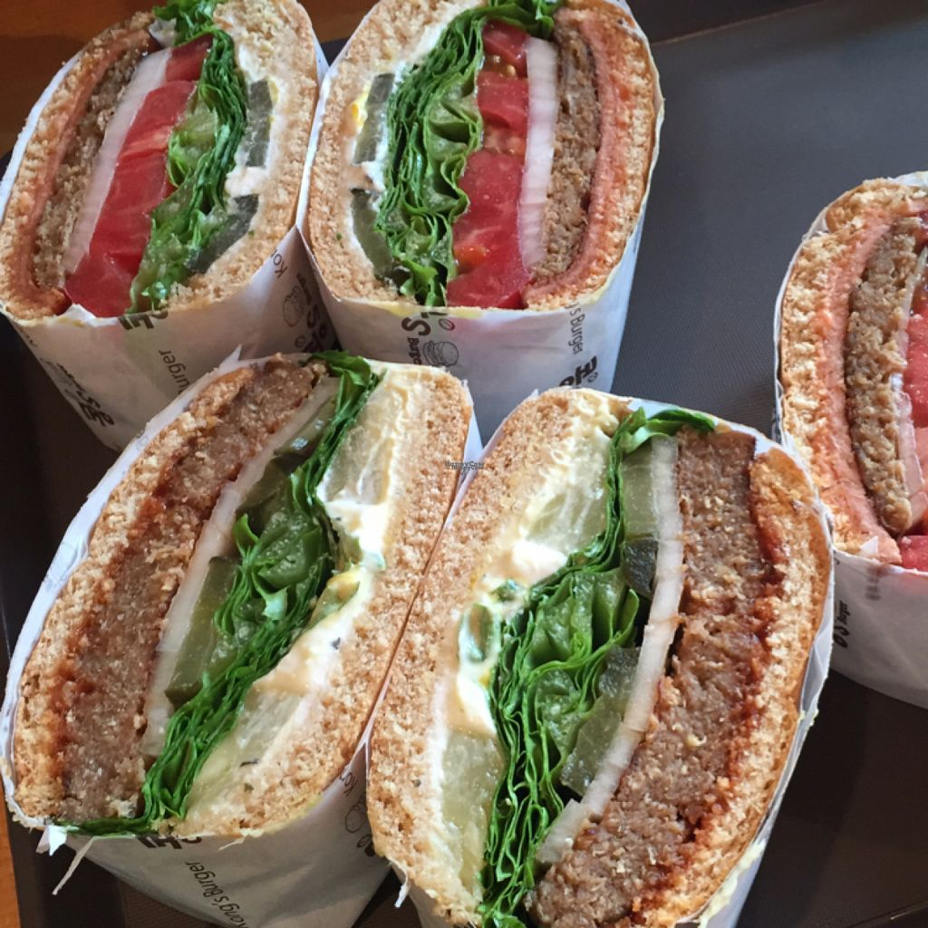 """Photo of Kong's Burger - Gaya-daero  by <a href=""""/members/profile/NikolineJuul"""">NikolineJuul</a> <br/>yummy burgers <br/> August 22, 2016  - <a href='/contact/abuse/image/69587/170743'>Report</a>"""