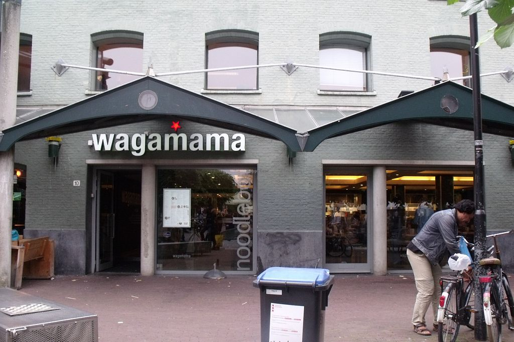 """Photo of Wagamama - Leidseplein  by <a href=""""/members/profile/Amy1274"""">Amy1274</a> <br/>Exterior <br/> June 17, 2016  - <a href='/contact/abuse/image/69588/154420'>Report</a>"""