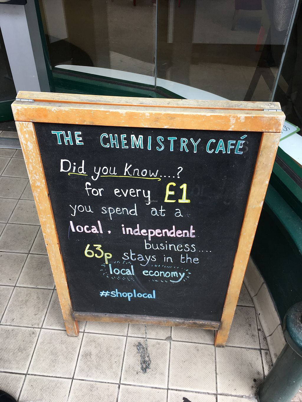 """Photo of The Chemistry Cafe  by <a href=""""/members/profile/Spaghetti_monster"""">Spaghetti_monster</a> <br/>shop local <br/> July 24, 2017  - <a href='/contact/abuse/image/69616/284381'>Report</a>"""