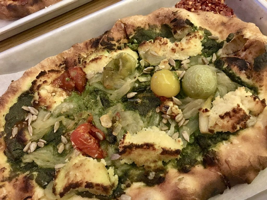 "Photo of Double Zero  by <a href=""/members/profile/Karenk"">Karenk</a> <br/>ricotta, tomato and basil pesto <br/> February 10, 2018  - <a href='/contact/abuse/image/69625/357123'>Report</a>"
