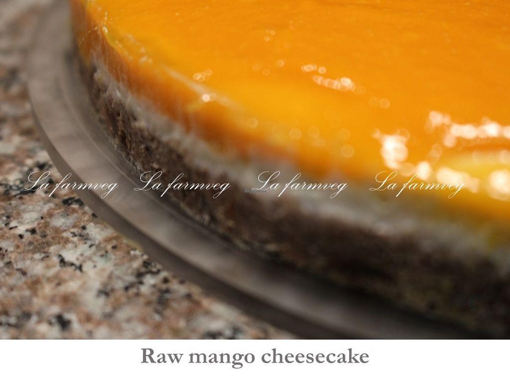 "Photo of CLOSED: La Farm Veg  by <a href=""/members/profile/DaniLove"">DaniLove</a> <br/>raw cheesecake mango <br/> May 7, 2016  - <a href='/contact/abuse/image/69632/147941'>Report</a>"