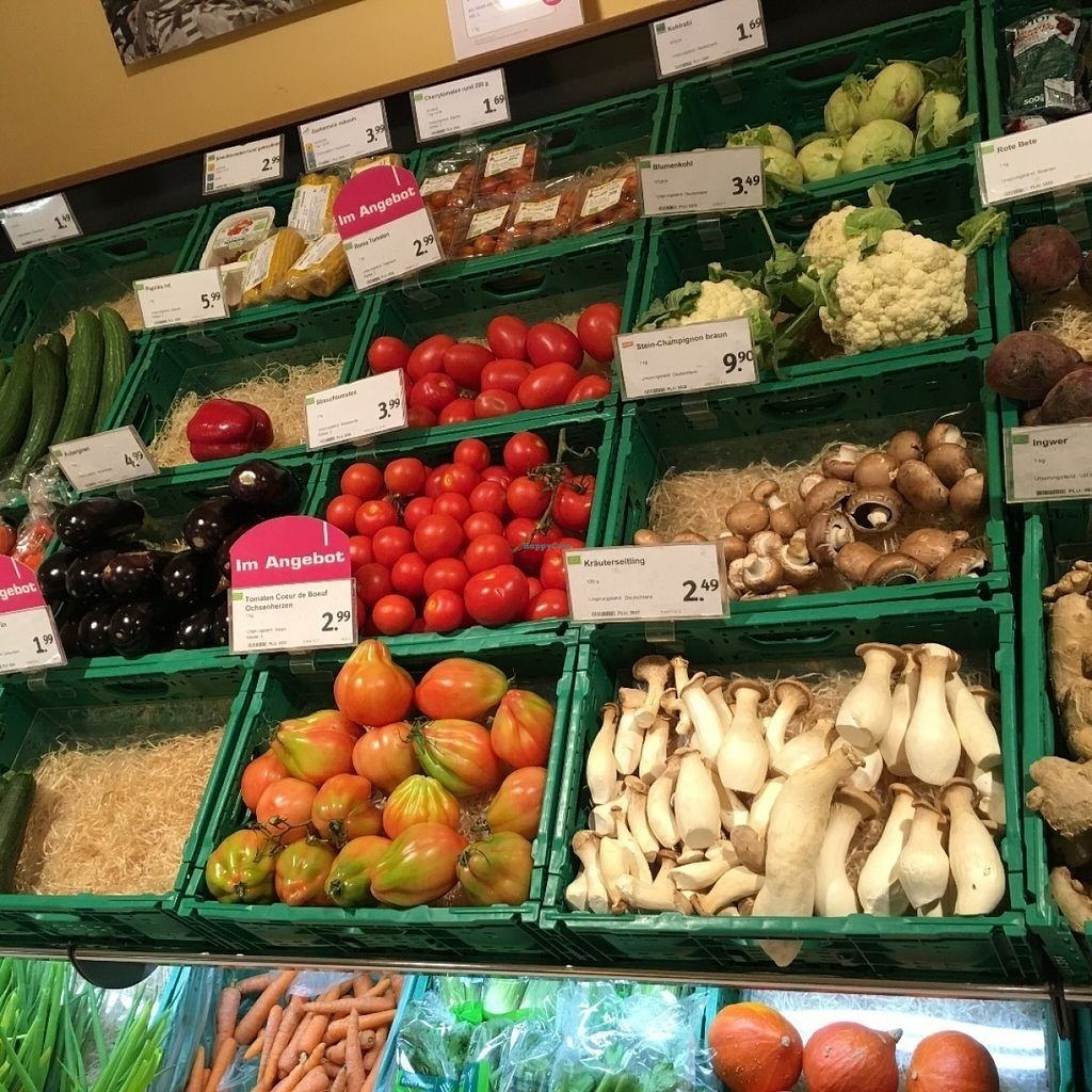 """Photo of denn's Biomarkt - Severinstrasse  by <a href=""""/members/profile/marky_mark"""">marky_mark</a> <br/>veggies part of store <br/> July 12, 2016  - <a href='/contact/abuse/image/69649/159427'>Report</a>"""